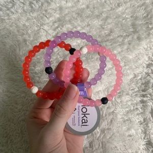 Authentic Lokai Bracelets, Pink, Purple, Red